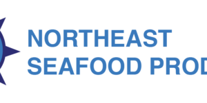 logo for northeast seafood products
